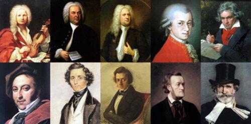 آهنگسازان بزرگ موسیقی