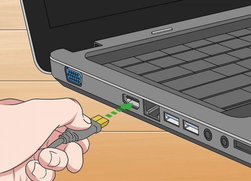 اتصال کابل به لب تاب