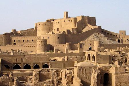 3- ارگ بم، کرمان، از مکان های تاریخی ایران