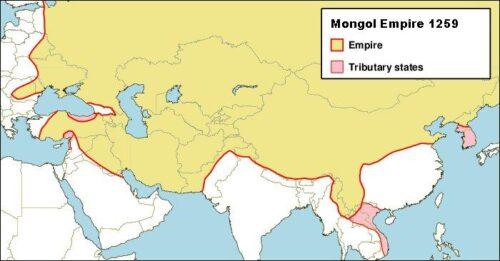 امپراطوری مغول