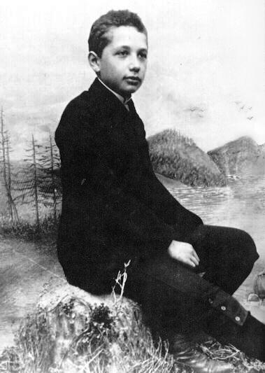 انیشتین در جوانی