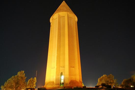 برج گنبد قابوس، گلستان