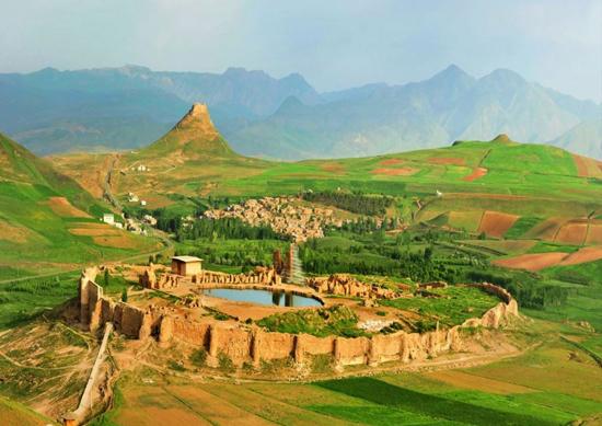 تخت سلیمان، آذربایجان غربی