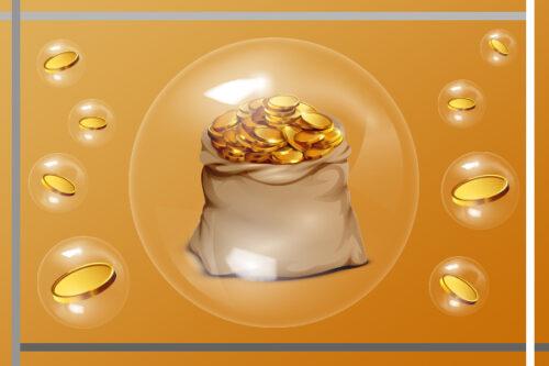 حباب قیمتی