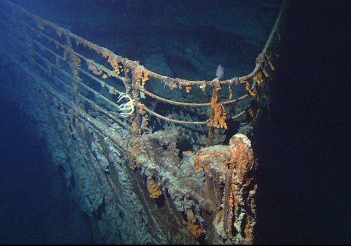 دماغه کشتی تایتانیک