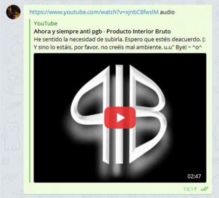 ذخیرهی ویدیو در قالب فایل صوتی