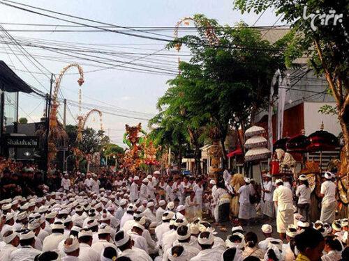 روز سکوت در میان مردمان بالی