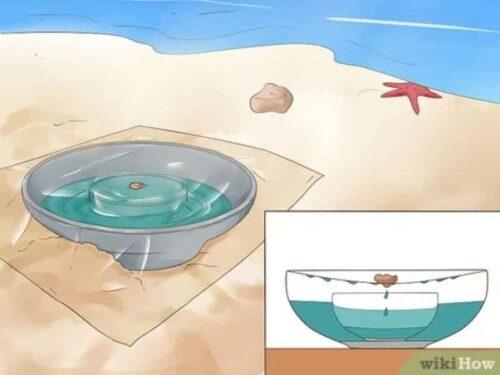 روش نمک زدایی خورشیدی