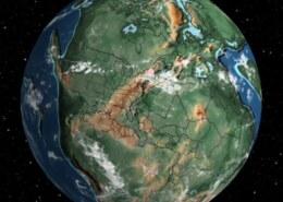 اگر تمام قاره های کره زمین به هم متصل بودند الان کره زمین چطوری بود؟