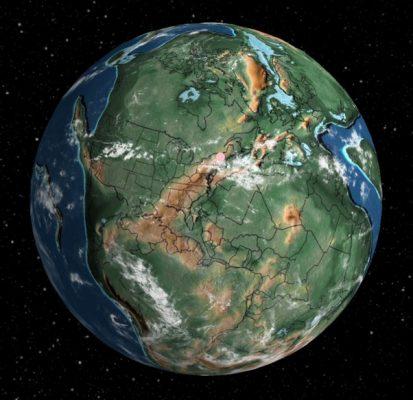 قاره های متصل جهان
