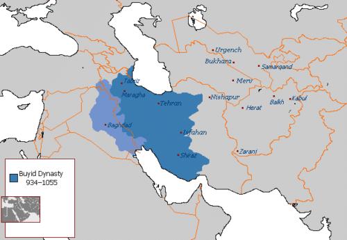 قلمرو ایران در سلسله آل بویه