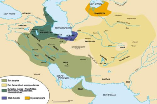 قلمرو ایران در سلسله آل زیار