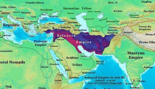 قلمرو ایران در سلسله سلوکیان
