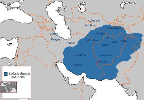 قلمرو ایران در سلسله صفاریان