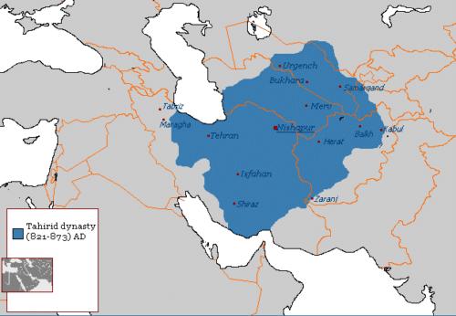 قلمرو ایران در سلسله طاهریان