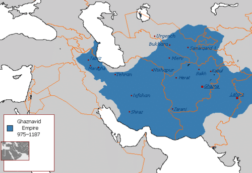 قلمرو ایران در سلسله غزنویان