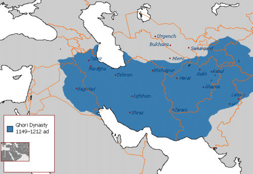 قلمرو ایران در سلسله غوریان