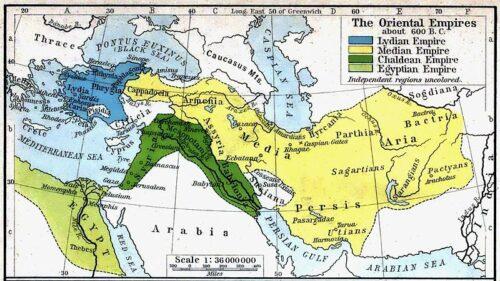 قلمرو ایران در سلسله مادها