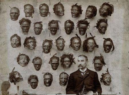 مجموعه سر که Horatio Gordon Robley از قبایل مائوری جمع کرده بود.
