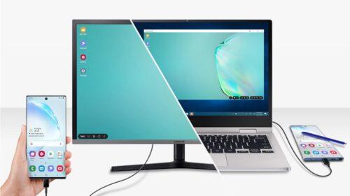 نحوه استفاده از DeX در لپ تاپ یا کامپیوتر