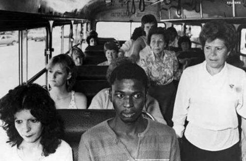 نگاه تبعیض نژادی