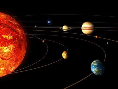چرا سیارات به دور خورشید می چرخند