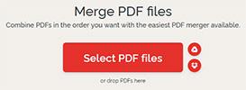 چسباندن فایل های pdf
