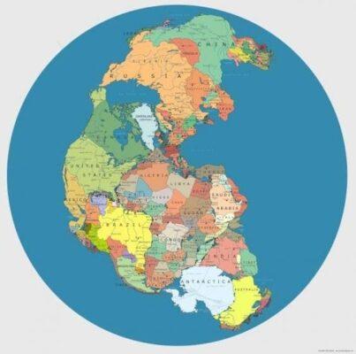 چگونگی قرار گرفتن قارهها