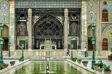 کاخ گلستان، تهران، یکی دیگر از جاهای تاریخی ایران