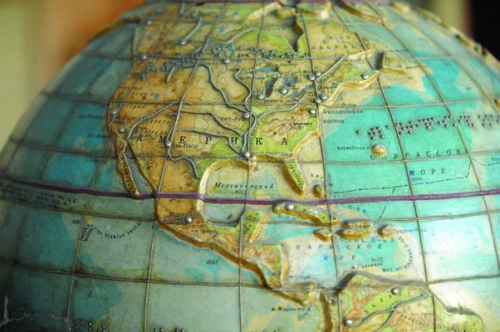 کره جغرافیا برای افراد نابینا