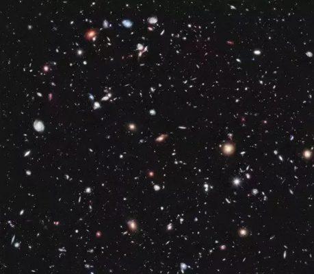 کهکشان ها در اسمان