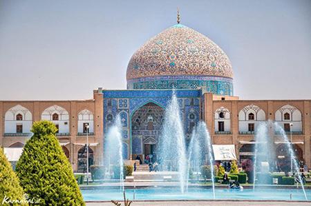 یکی از مهم ترین مکان های تاریخی ایران، مسجد شیخ لطفالله، اصفهان: