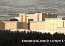 بنای اصلی تخت جمشید به چه شکلی بوده است؟