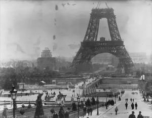 ساخت برج ایفل در پاریس سال 1888