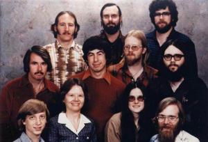 کارکنان مایکروسافت در سال 1978